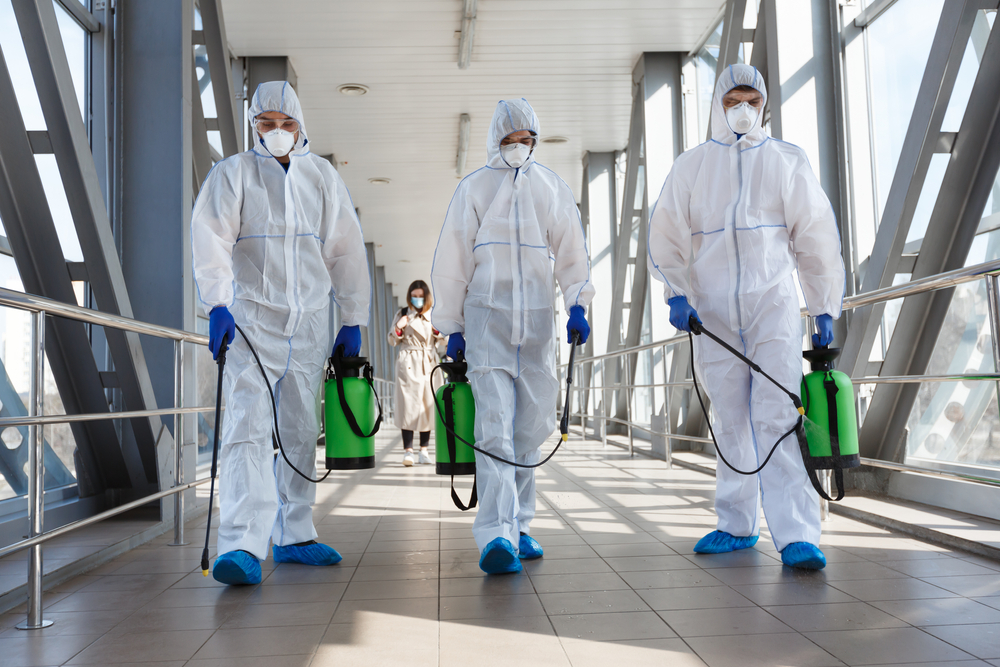 Coronavirus: Our experts are here to perform a deep clean.